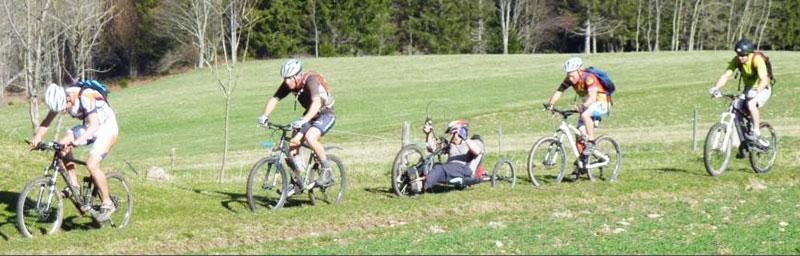 Handiraid Grenoble INP - course à vélo